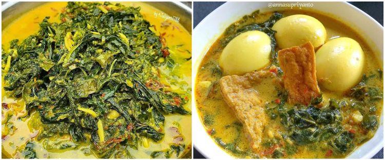 9 Resep gulai daun singkong ala restoran Padang, gurih dan kental