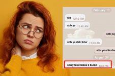 11 Chat lucu teman lagi malas bales, endingnya bikin nyesek