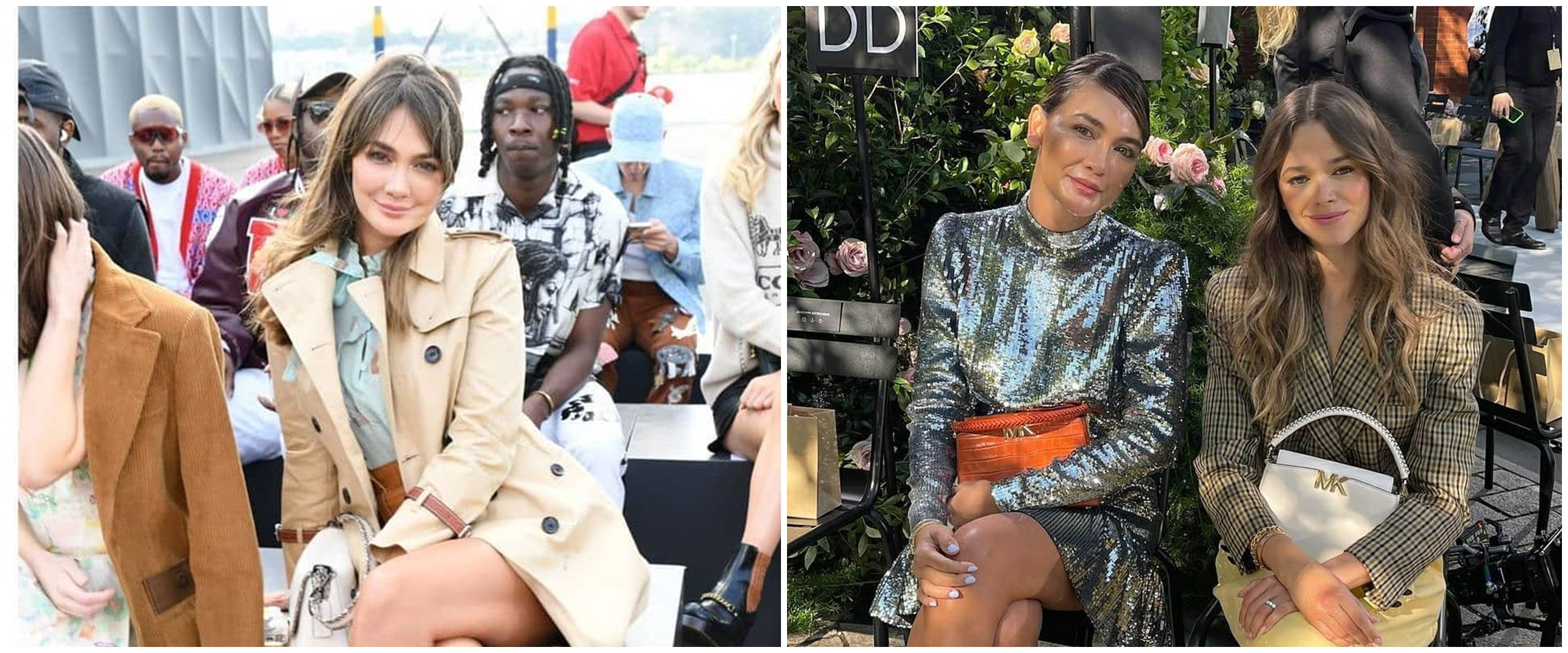 9 Gaya Luna Maya di New York Fashion Show, akrab sama artis Hollywood