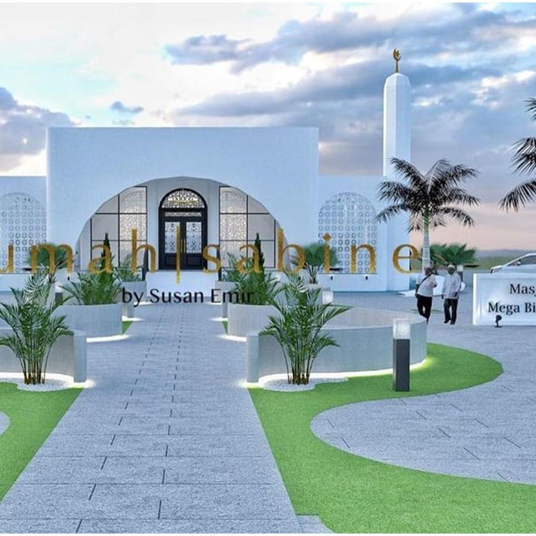 9 Potret desain masjid yang dibangun Ivan Gunawan, interiornya mewah