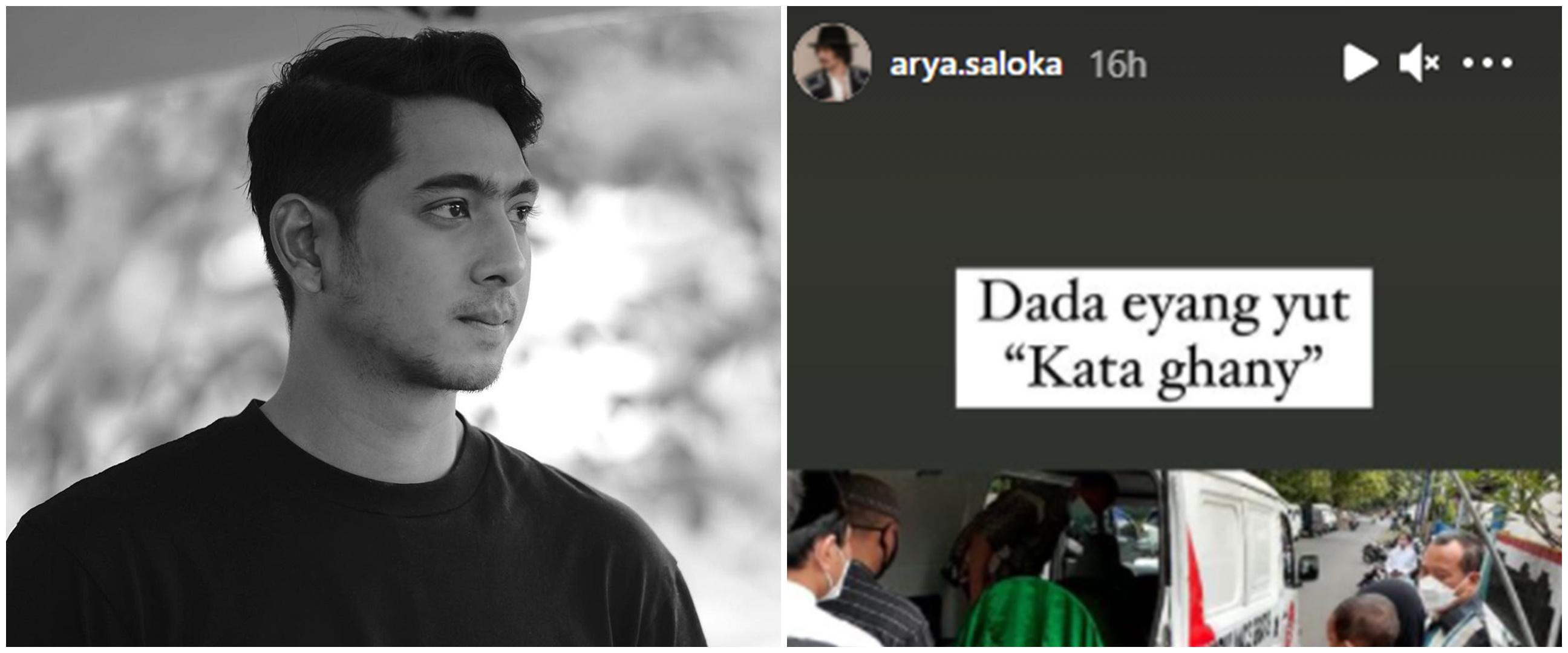 Kabar duka, kakek Arya Saloka meninggal dunia
