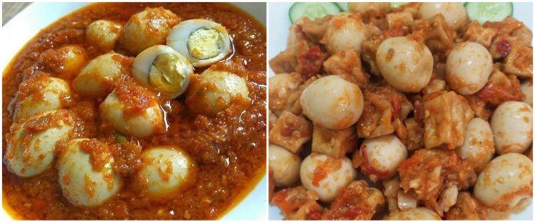9 Resep kreasi telur puyuh pedas ala rumahan, bumbunya nendang