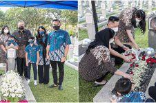 Momen SBY rayakan ultah ke-72, ziarah ke makam Ani Yudhoyono