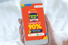 ShopeePay hibur warga lewat Google Play Festival, catat tanggalnya