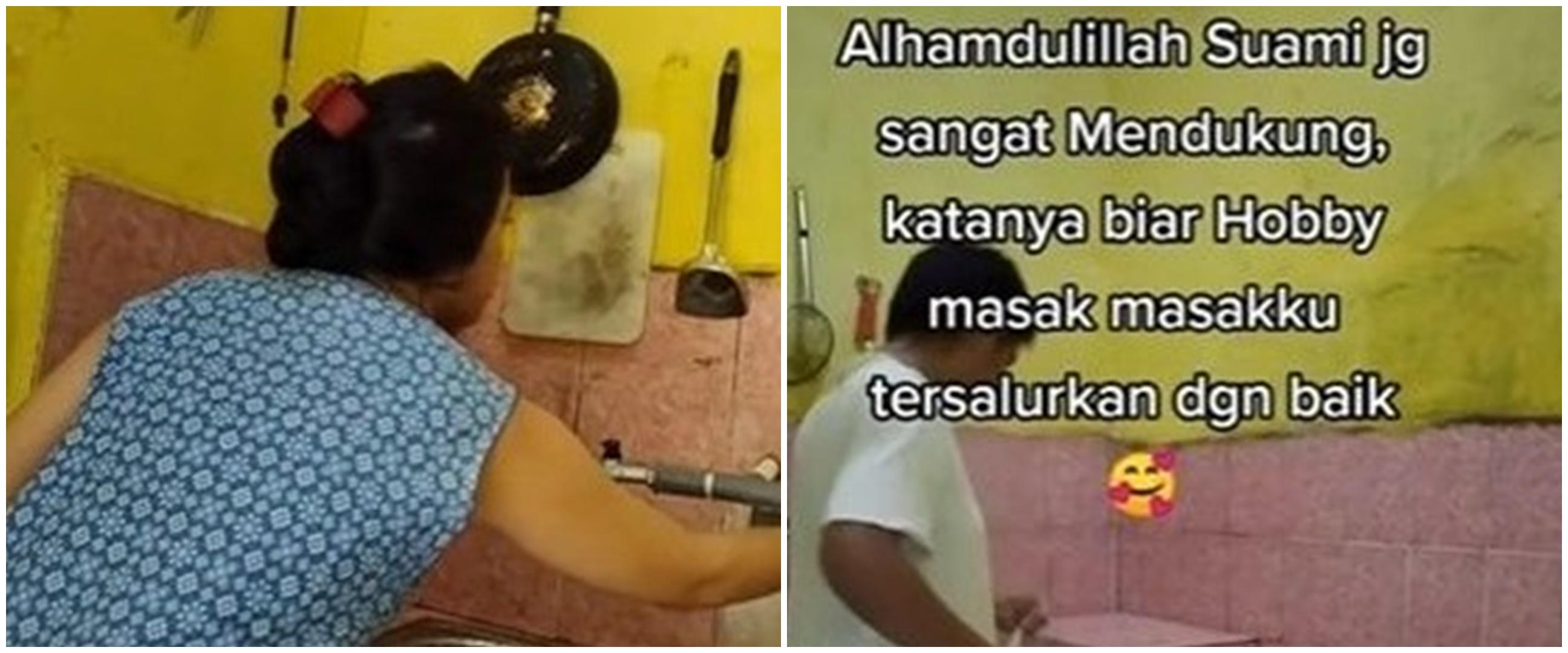 Hasilnya bikin takjub, ibu ini makeover dapur dengan modal Rp 60 ribu