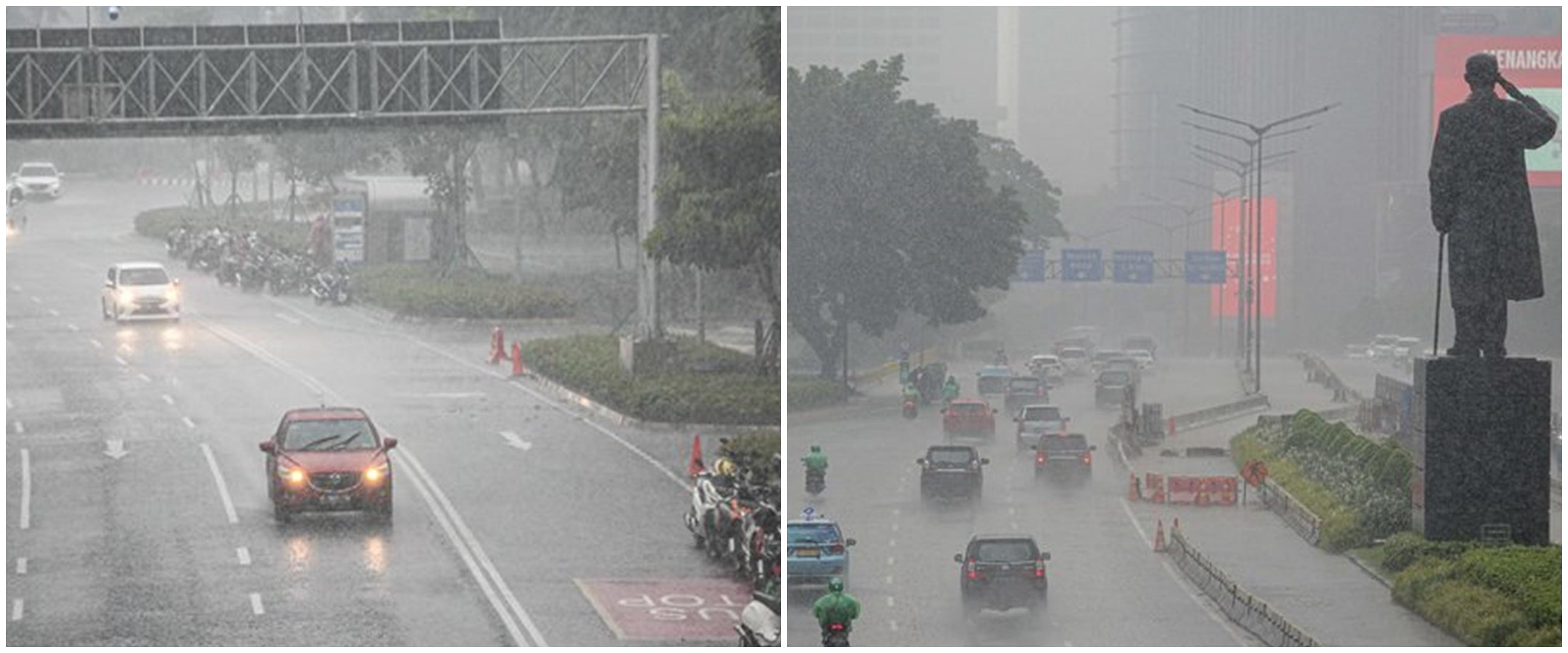 Potensi hujan petir di wilayah Indonesia akibat 3 fenomena musim