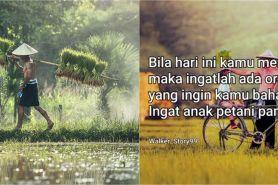 75 Kata-kata bijak anak petani, inspiratif dan penuh semangat