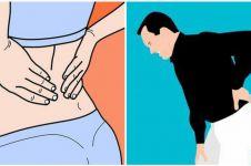 Penyebab sakit punggung dan cara mengatasinya