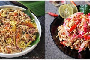 9 Resep ayam suwir kecombrang, wangi dan gurih bikin nagih
