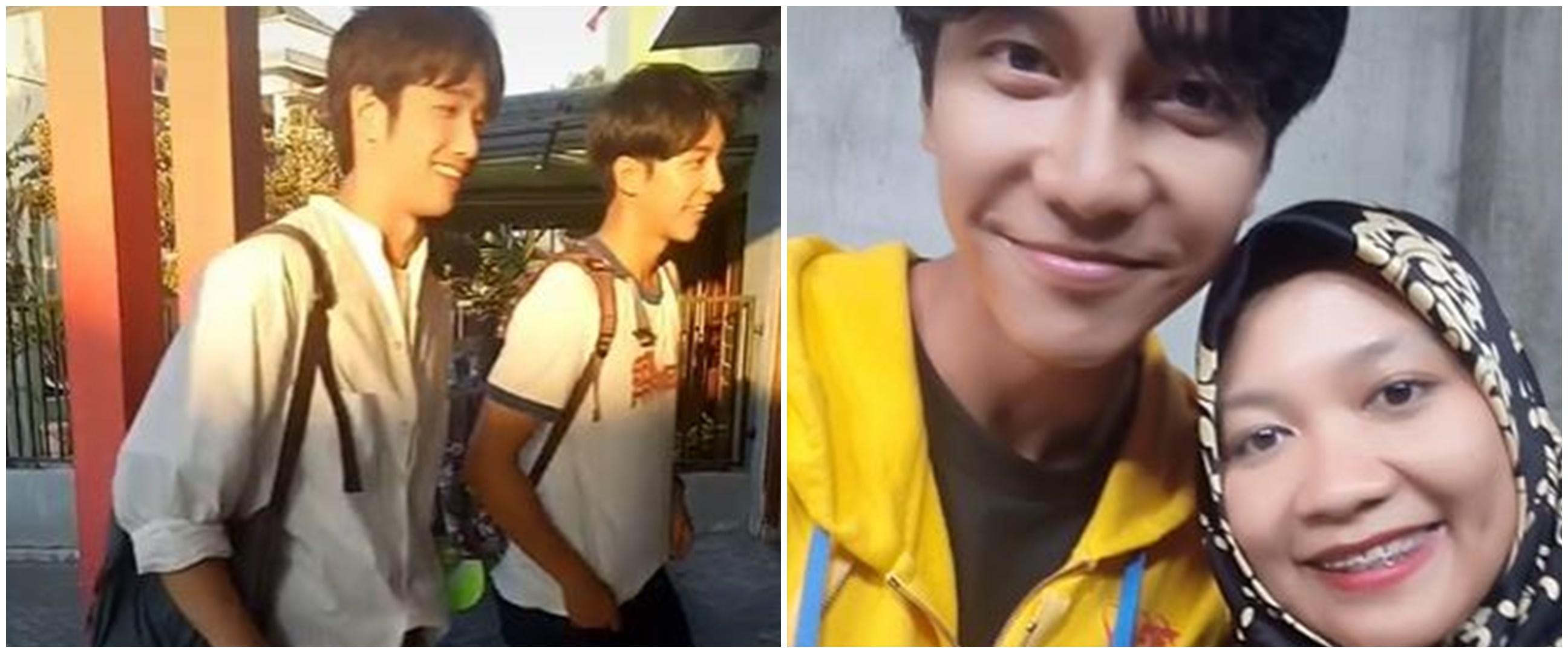 Kisah wanita dikunjungi Lee Seung-gi dan Jasper Liu, bikin fans sirik