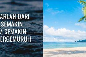 75 Kata-kata bijak tentang laut, santai dan bikin hati tenang