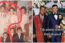 Viral wanita temukan foto masa kecil suami di pernikahan orang tuanya