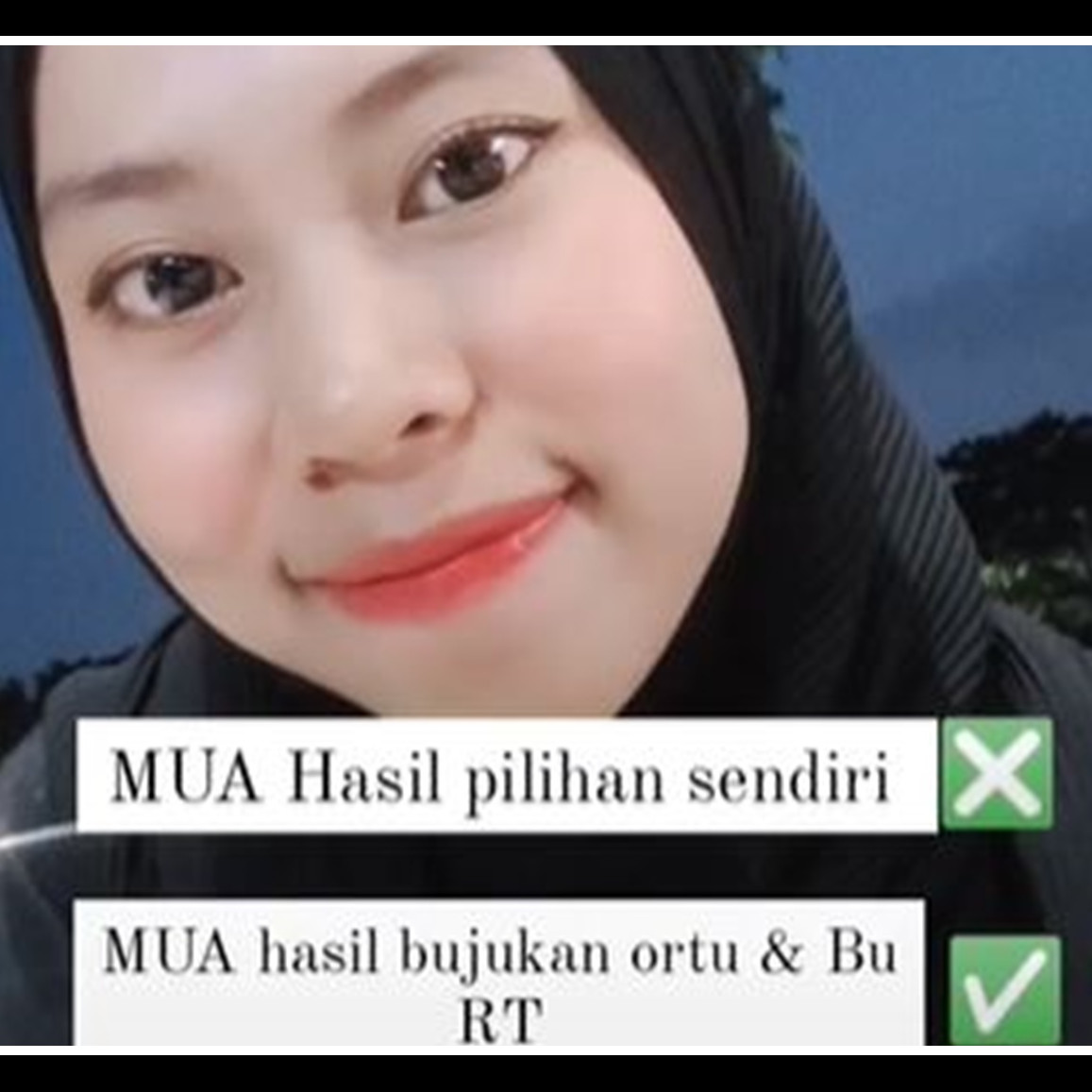 MUA dipilih Bu RT, hasil makeup pengantin ini jauh dari ekspektasi