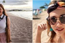 7 Beda gaya Maia Estianty dan Bunga Citra Lestari liburan di Hawaii