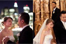 11 Potret lawas pernikahan Rianti Cartwright dan Cas Alfonso