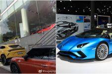Koleksi mobil mewah milik 13 seleb Korea, milik Jin BTS Lamborghini