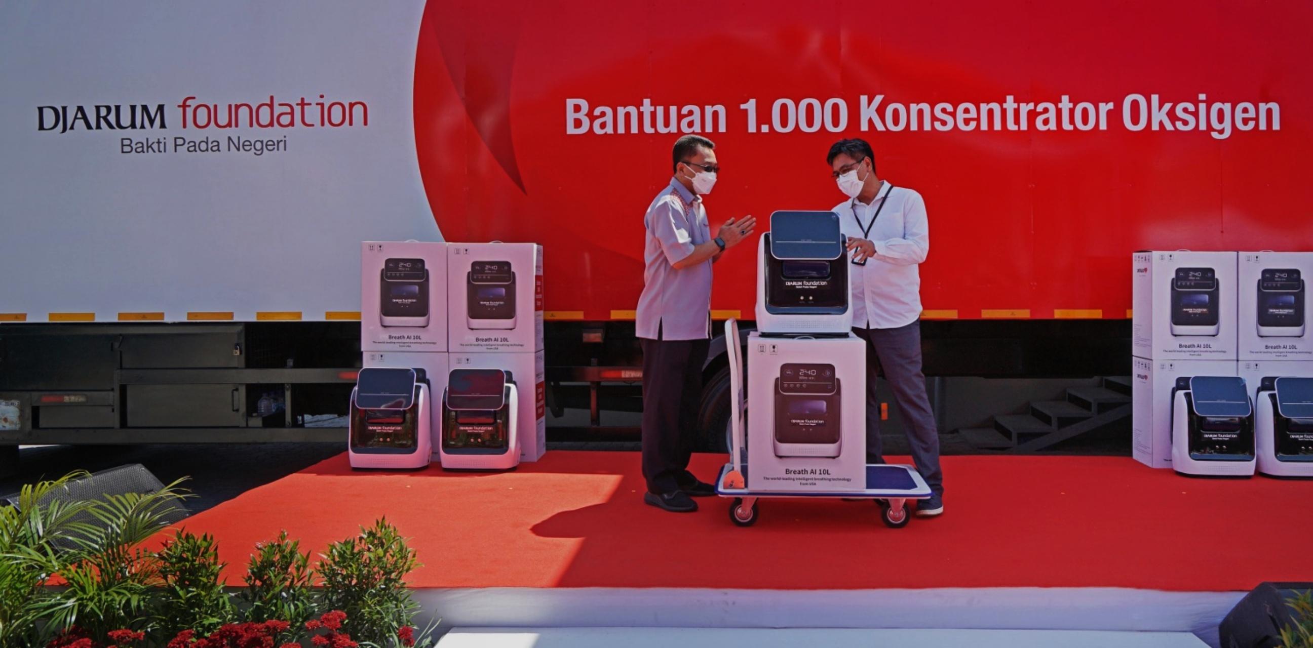 Djarum Foundation donasikan 1000 unit konsentrator oksigen
