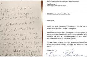 Bocah 9 tahun kirim lamaran kerja ke NASA, dapat balasan nggak terduga