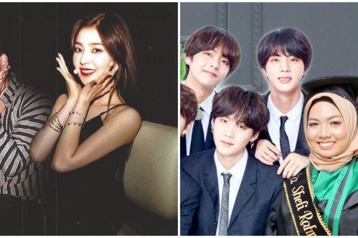 13 Editan foto netizen bareng artis Korea ini hasilnya nyeleneh