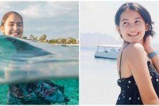 Absen syuting, ini 7 momen Sandrinna Michelle diving di Labuan Bajo