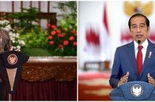 Curhat haru Jokowi, jarang ketemu Jan Ethes gara-gara pandemi