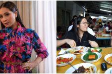 9 Momen Nagita Slavina borong makanan, bawa restoran Padang ke rumah