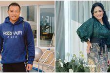 Momen akrab Anang & Krisdayanti di pengajian 4 bulan Aurel Hermansyah
