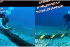 IndiHome gangguan, ini perjuangan penyambungan kabel di bawah laut