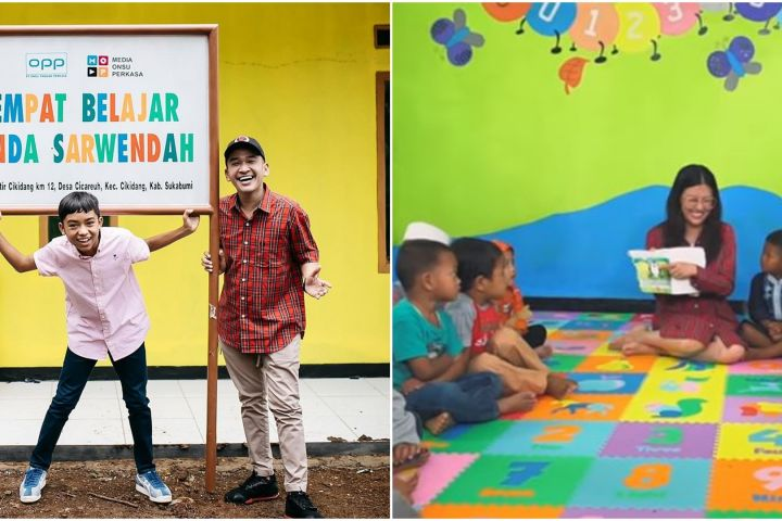 Renovasi ulang, intip 9 potret sekolah yang dibangun Sarwendah