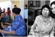 Tinggal kenangan, ini 13 foto Annisa Pohan bareng Ibu Ageng mertua SBY