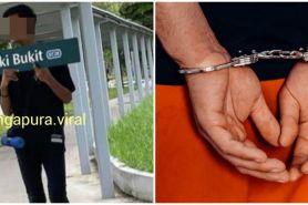 Remaja ditangkap polisi akibat rusak fasilitas umum demi konten TikTok