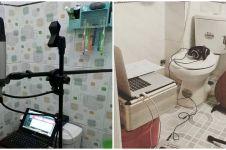 11 Cara nyeleneh manfaatkan kamar mandi ini kreatif banget