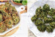 11 Resep bakwan bayam, renyah dan lezatnya bikin nagih
