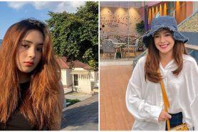 Cerita Beby Tsabina jalani kuliah online di tengah banjir, bikin salut