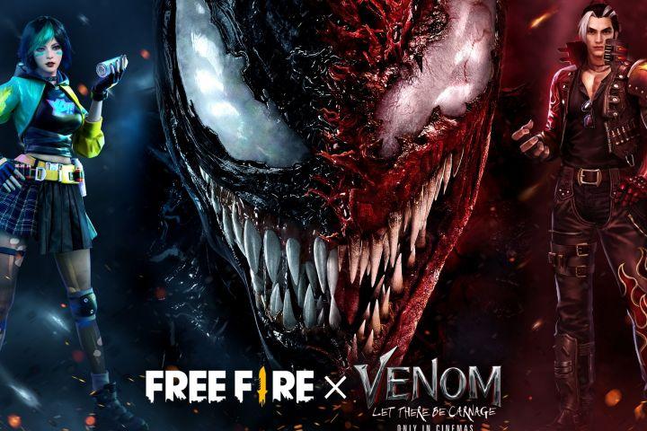 Akhirnya Free Fire hadirkan koleksi eksklusif Venom dalam game