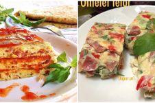 9 Resep omelet berbagai isi, praktis, gurih, dan bikin nagih