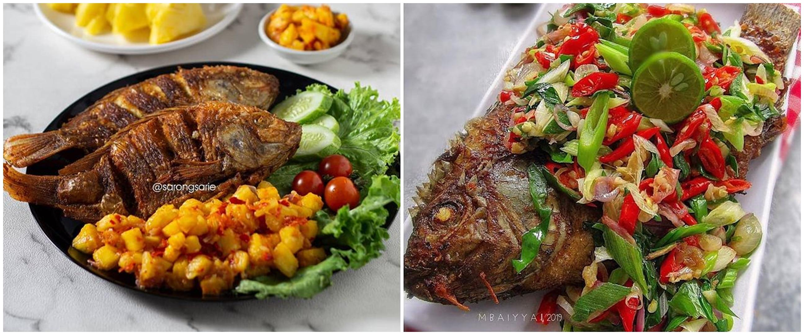 11 Resep kreasi ikan nila goreng, enak jadi menu sehari-hari