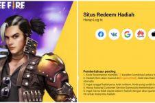 Kode Redeem Free Fire 29 September 2021, ada Skin & Loot Crate gratis