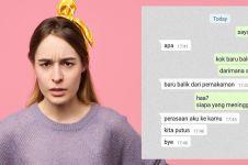 11 Chat lucu dikerjain pacar sendiri ini endingnya bikin emosi