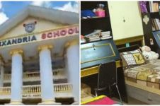 5 Penampakan SMA Alexandria, dilengkapi fasilitas mewah layaknya hotel