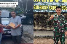 Sempat diremehkan orang, prajurit TNI ini sukses bangun rumah impian