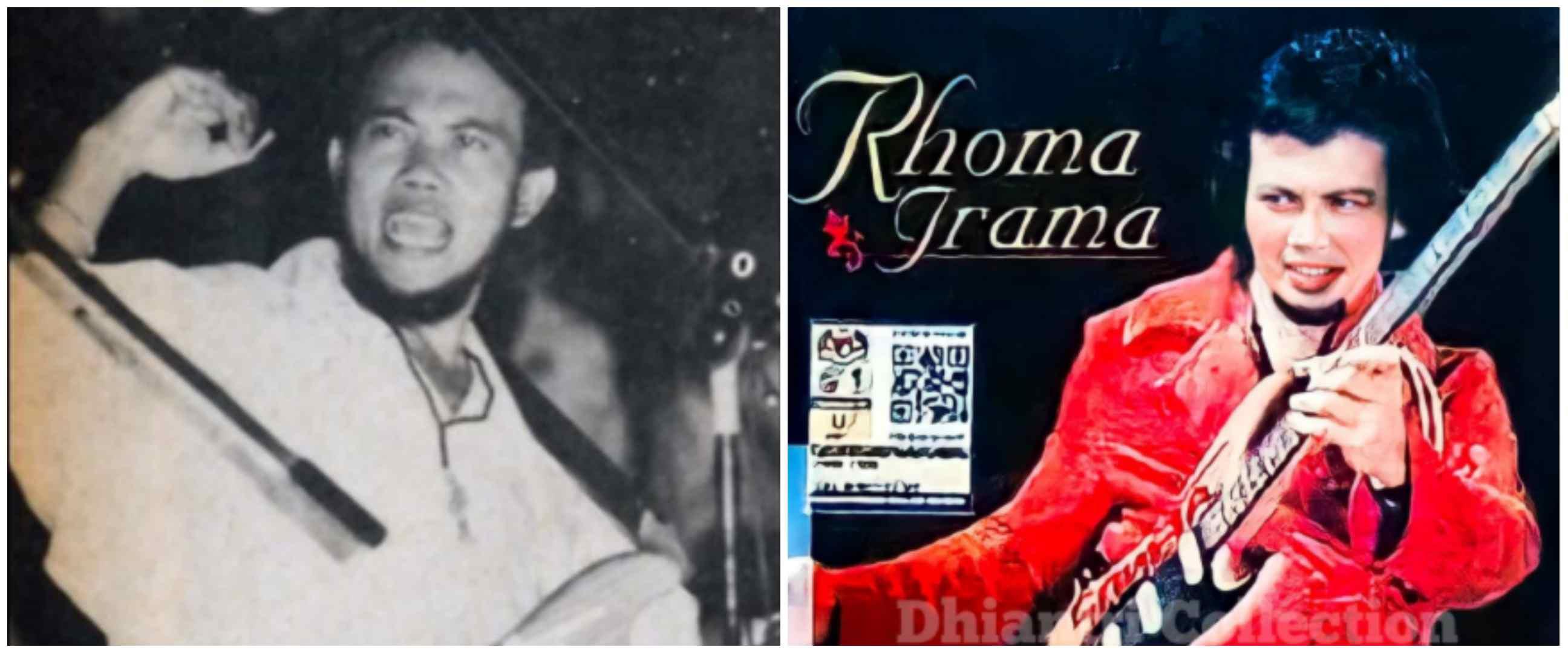 11 Gaya busana Rhoma Irama saat muda, syal dan cutbrai jadi andalan