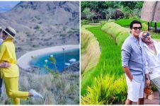 9 Cara Syahrini padu padan outfit saat liburan di Labuan Bajo, stylish