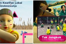 3 Permainan Squid Game versi kearifan lokal Indonesia, bikin nostalgia