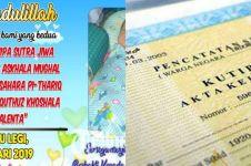 Nama anak panjang sulit urus akta, orang tua di Tuban surati Jokowi