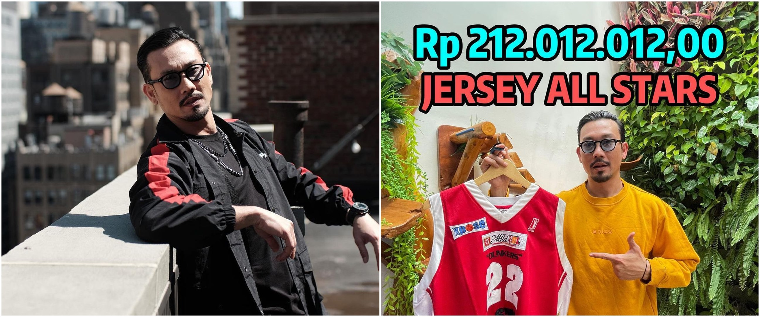 5 Fakta Denny Sumargo lelang jersey kesayangan, laku Rp 210 juta