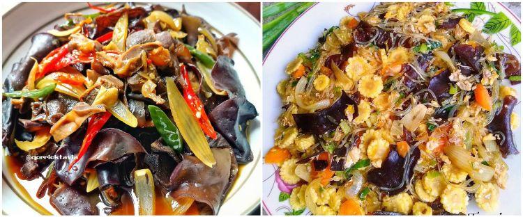 11 Resep tumis jamur kuping istimewa, sederhana dan menyehatkan
