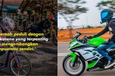 91 Kata-kata bijak anak motor, santai tapi menginspirasi