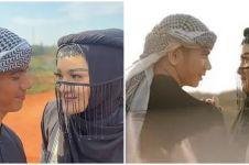 7 Momen prewedding Ridho D'Academy dan Syifa, usung tema Arabian