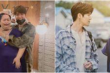 Pose bareng aktor Korea, editan foto 11 seleb ini bikin senyum tipis